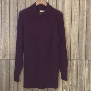 LL Bean Cable Knit Sweater Dress